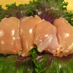 Chicken Boned Skinless thigh Meat 750gms